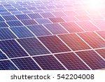 solar power station | Shutterstock . vector #542204008