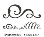 vector swirl elements for... | Shutterstock .eps vector #542211214