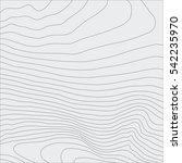 topographic map background... | Shutterstock .eps vector #542235970