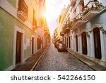 Puerto Rico  San Juan Streets...