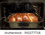 home made freshly baked... | Shutterstock . vector #542277718