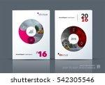 business vector. brochure... | Shutterstock .eps vector #542305546