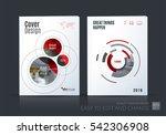 business vector set. brochure... | Shutterstock .eps vector #542306908
