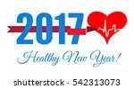 congratulations to the healthy... | Shutterstock .eps vector #542313073