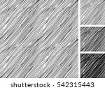 seamless pattern of hand drawn... | Shutterstock .eps vector #542315443