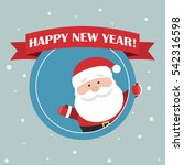 cartoon santa claus for your... | Shutterstock .eps vector #542316598
