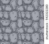 twelve angle stone. seamless...   Shutterstock .eps vector #542322280