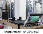 gym equipment | Shutterstock . vector #542340553