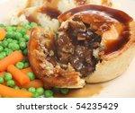 Steak Pie With Mashed Potato ...