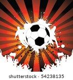football poster   Shutterstock .eps vector #54238135