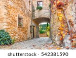 A Street In The Old Town Of...