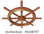 ship wheel   Shutterstock . vector #54238747