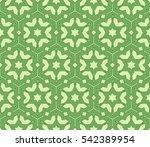 seamless floral geometric...   Shutterstock . vector #542389954