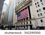 new york  ny  august 27  2016 ... | Shutterstock . vector #542390500