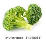 fresh  raw  green broccoli... | Shutterstock . vector #54240055
