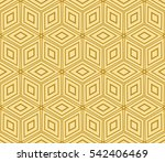seamless pattern based on the... | Shutterstock . vector #542406469
