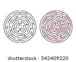 Vector Labyrinth. Maze  ...
