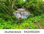 Waterfalls In The Tropical Rai...
