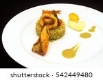a beautiful dinner plate. a...
