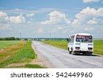 Interurban Fixed Route Bus On ...