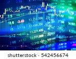 financial market is a market...   Shutterstock . vector #542456674