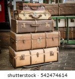 Old Cases And Trunks On The...