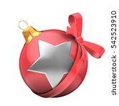 3d illustration of christmass... | Shutterstock . vector #542523910