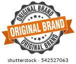 original brand. stamp. sticker. ... | Shutterstock .eps vector #542527063