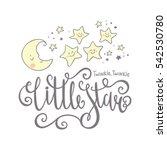 twinkle twinkle little star...   Shutterstock .eps vector #542530780