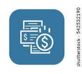 bill payment icon. concept....