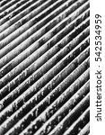 rustic grungy grate texture in... | Shutterstock . vector #542534959