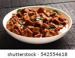 traditional homemade  mutton... | Shutterstock . vector #542554618