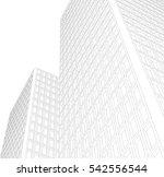 architecture building | Shutterstock .eps vector #542556544