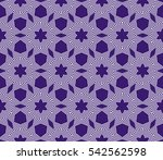 decorative floral geometric... | Shutterstock .eps vector #542562598