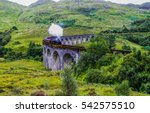 the glenfinnan viaduct railway...