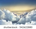 Beautiful Sky Background With...