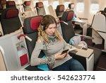 Business Woman Passenger...