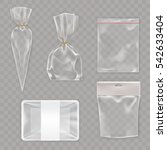 collection mock up  packaging... | Shutterstock .eps vector #542633404