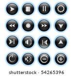 media icon | Shutterstock .eps vector #54265396