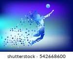 illustration of abstract... | Shutterstock .eps vector #542668600