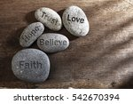 pebbles or stone with... | Shutterstock . vector #542670394