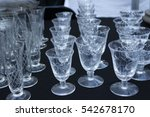 Set Of Crystal Glasses At...