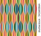 tribal geometric vector pattern.... | Shutterstock .eps vector #542683864