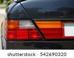 Tail Light. Sport Car