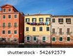 venice  italy. romantic view... | Shutterstock . vector #542692579