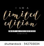 slogan graphic for t shirt | Shutterstock . vector #542703034