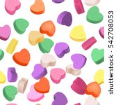 Seamless Pattern For Valentine...