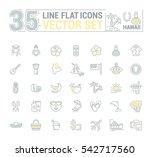 vector graphics set.... | Shutterstock .eps vector #542717560