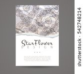 vector design template.... | Shutterstock .eps vector #542748214