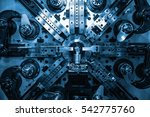 operator machining automotive... | Shutterstock . vector #542775760